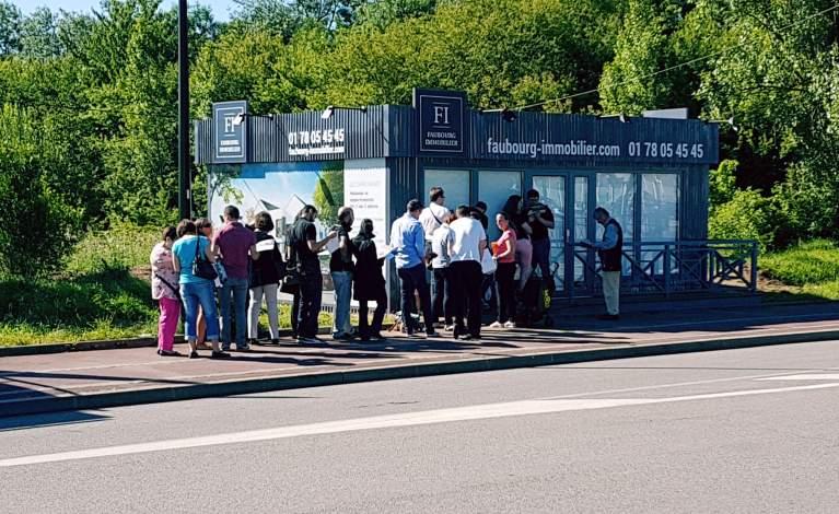 Lancement réussi du programme immobilier à Montigny-le-Bretonneux (78)