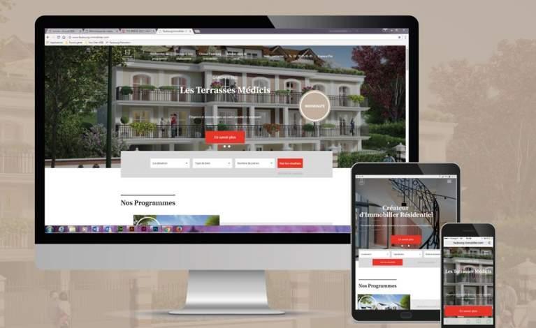 Nouveau site web Faubourg Immobilier