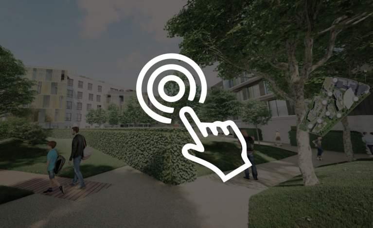 Media interactif - Les terrasses de Bry