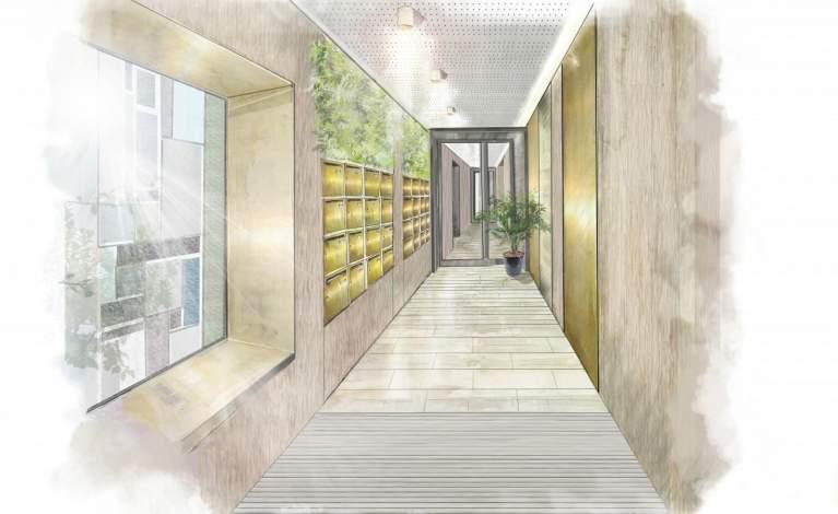 Perspective Hall - Le Vesinet