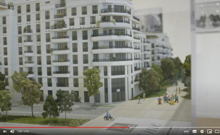 Film de présentation de la future résidence - The One