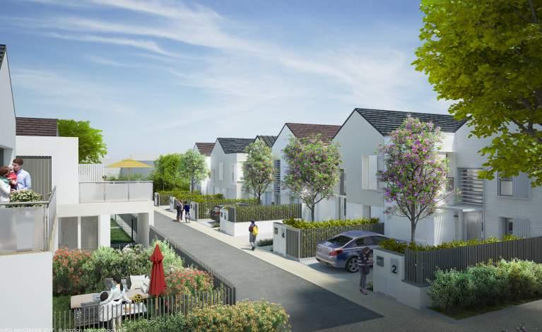 Présentation de la future Résidence Le Carré Manet à Montigny-le-Bretonneux (78)