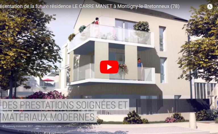 2-Présentation de la future Résidence Le Carré Manet à Montigny-le-Bretonneux (78)