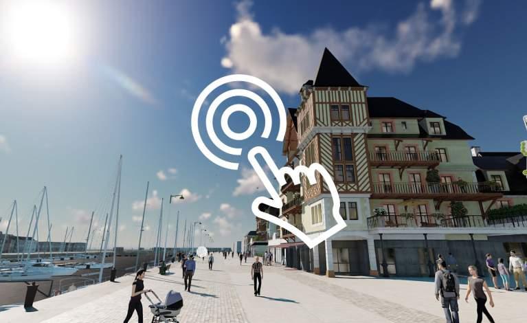 Visite interactive Presqu'île de Deauville