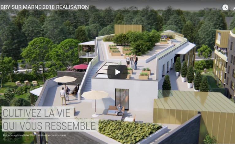Vidéo Présentation en 3D Les Terrasses de Bry à Bry-sur-Marne (94) - Version longue