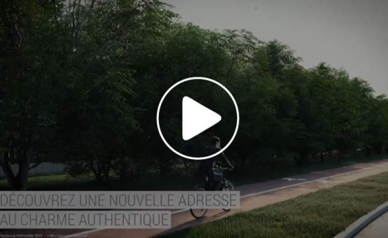 Vidéo Présentation en 3D Esprit Village à Montigny-le-Bretonneux (78) - Version longue
